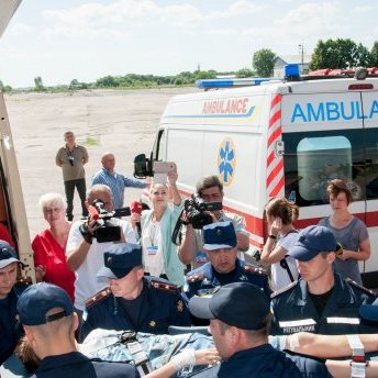 Діти, які постраждали в ДТП у Білорусі, вже в Україні
