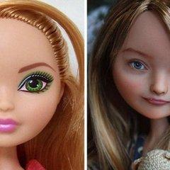 Українка перетворює ляльок Барбі на витвори мистецтва: вражаючий результат