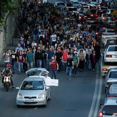 Учасники акції протесту в Грузії вимагають відставки уряду (фото)