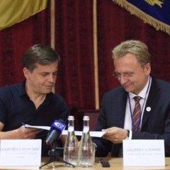 Житомир та Львів підписали меморандум про культурну співпрацю