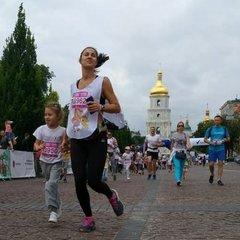 У Києві стартував благодійний пробіг під каштанами