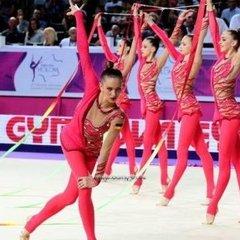 Українські «художниці» виграли «срібло» чемпіонату Європи у вправі з п'ятьма обручами
