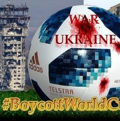 У мережі набирає популярність флешмоб з бойкотом ЧС з футболу у Росії