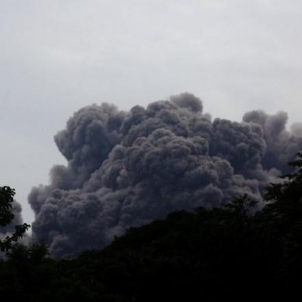 Кількість жертв виверження вулкана в Гватемалі зросла до 56 осіб