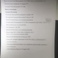 Стали відомі імена всіх журналістів зі «списку 47» - ЗМІ