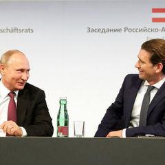 Після зустрічі з Путіним Курц заявив, що Австрія підтримає європейські санкції проти Росії