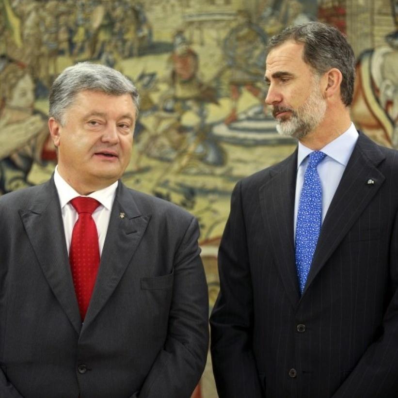 Авіапереліт Порошенка з делегацією в Іспанію обійшовся в 1,5 млн гривень