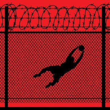 """Facebook забанив автора """"кривавих"""" плакатів про ЧС-2018 з футболу в Росії (фото)"""