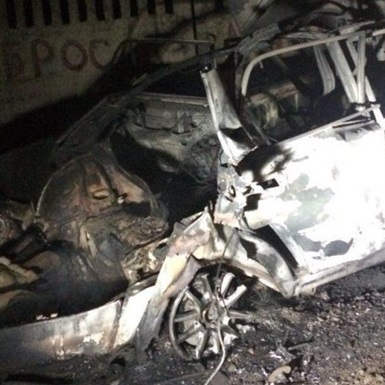 В Одеській області вибухнуло авто з людьми