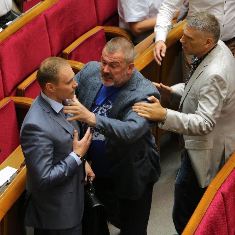 Депутати Береза і Долженков побилися в Раді (фото)