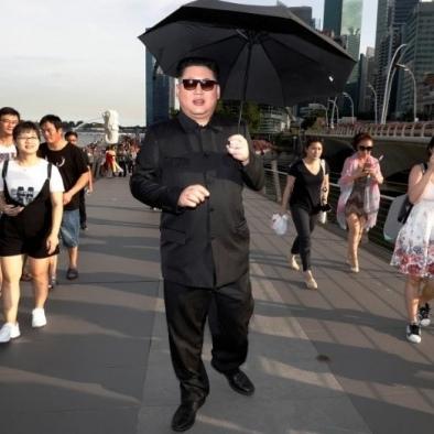 У Сінгапурі напередодні саміту КНДР-США затримали «копію» Кім Чен Ина