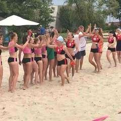 Київ приймає чемпіонат України з пляжного гандболу серед жінок