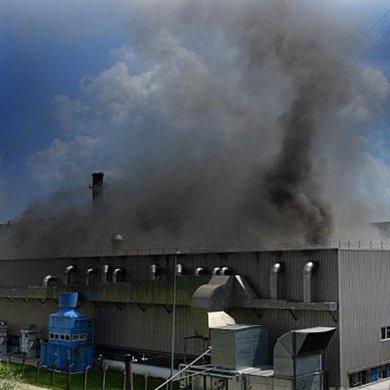 У Німеччині на заводі BMW сталася масштабна пожежа: фото