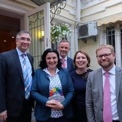 Європейські посольства влаштували прийом на честь КиївПрайду