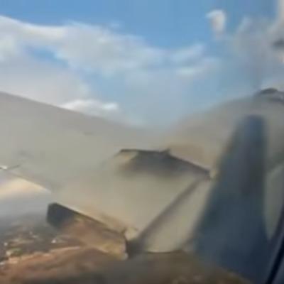 Катастрофу літака в ПАР зняв зсередини один з його пасажирів (відео)