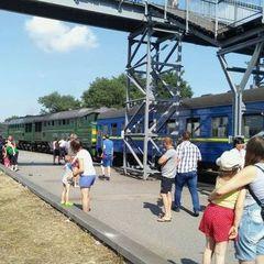 У Запорізькій області локомотив зіткнувся з пасажирським потягом, постраждало 26 осіб