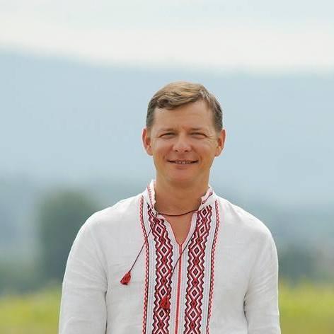 Ляшко похвалився голим торсом (фото)