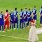 Український футболіст відвернувся від прапора Росії під час виконання гімну перед матчем