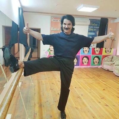 Павло Зібров показав, як він готується до початку «Танців з зірками»