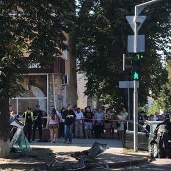 У Сумах трапилась моторошна аварія: тіла на тротуарах та калюжі крові