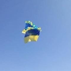 Над Донецьким аеропортом з'явився український прапор