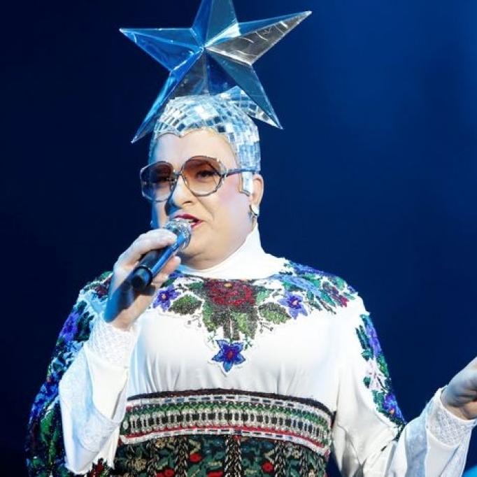 Андрій Данилко заспівав у Росії (відео)
