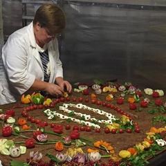 На Житомирщині встановили національний рекорд з приготування деруна вагою 180 кг (фото)
