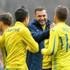 Україна увійшла до топ-5 європейських збірних 2018 року