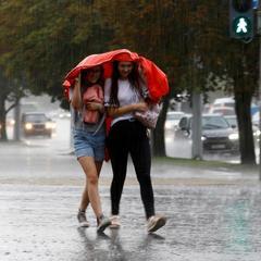 У Києві обіцяють короткочасні дощі з грозами