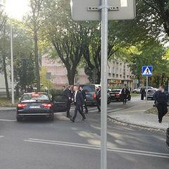Кортеж президента Польщі наїхав на дитину на пішохідному мосту