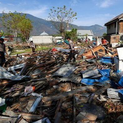 Індонезія: кількість загиблих через землетрус і цунамі зросла до 1649