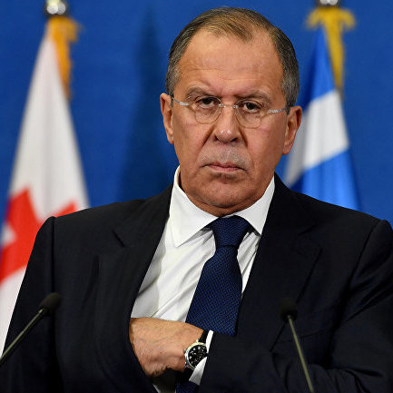 Лавров поскаржився на атаку Києва проти російської мови