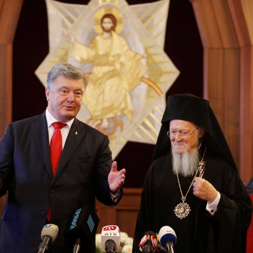 Порошенко та Варфоломій підписали угоду про співпрацю між Україною і Вселенським патріархатом (фото)