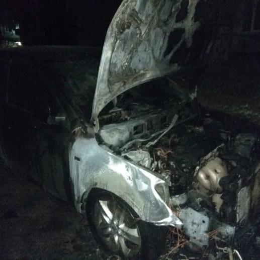 На Сумщині спали машину депутата міськради