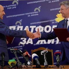 Рейтинг Рабиновича і Бойко злетів після того, як вони об'єдналися, - опитування