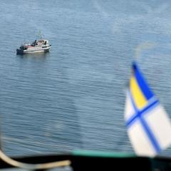 Російський корабель протаранив військовий буксир ВМС України в Азовському морі