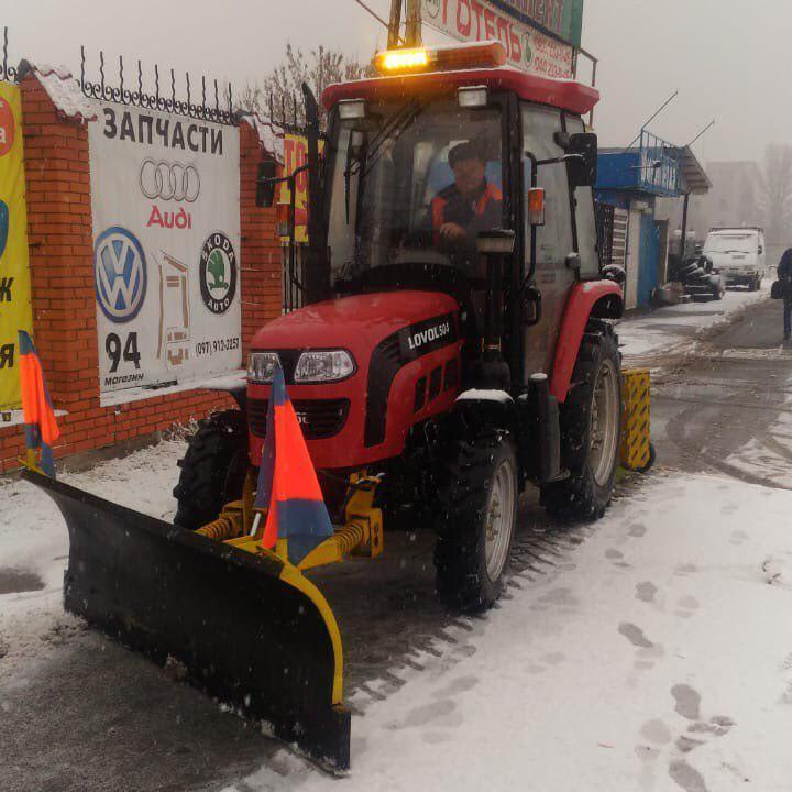Ліквідувати наслідки снігопаду у столиці буде 352 одиниці снігоприбиральної техніки - КМДА