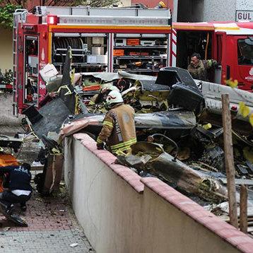У Туреччині вертоліт впав на дах будинку