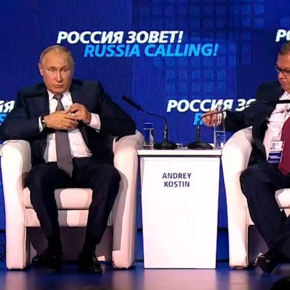 Путін вперше прокоментував агресію в Чорному морі