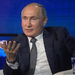 Путін поміркував про поїдання немовлят в Україні