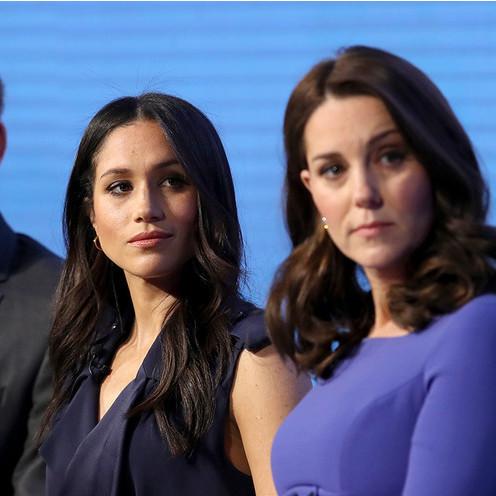 В Букінгемському палаці прокоментували чутки про стосунки Кейт і Меган