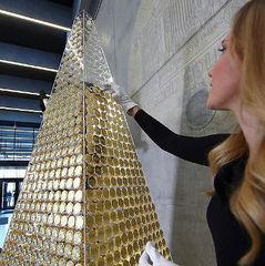 Стало відомо, де встановлена найдорожча різдвяна ялинка в Європі