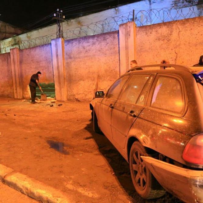 В Одесі «євробляха» протаранила тюремну стіну (фото)
