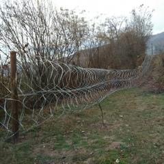 Боротьба з контрабандою: прикордонниками Мукачівського загону було встановлено загороджувальний паркан (фото)