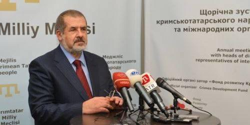 Чубаров закликав кримчан зустрічати Новий рік за київським часом