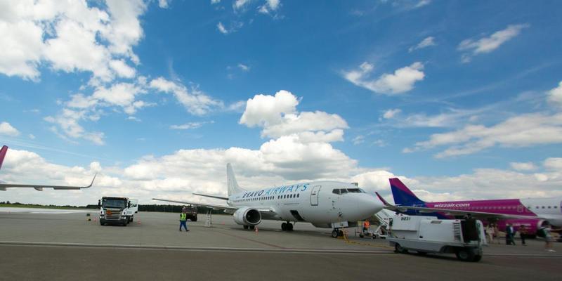 Літак Bravo Airways здійснив вимушену посадку в аеропорту «Бориспіль»