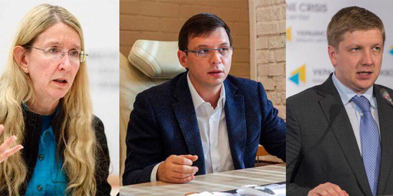 ЗМІ назвали головними зрадниками 2018 року Супрун,Мураєваі Коболєва