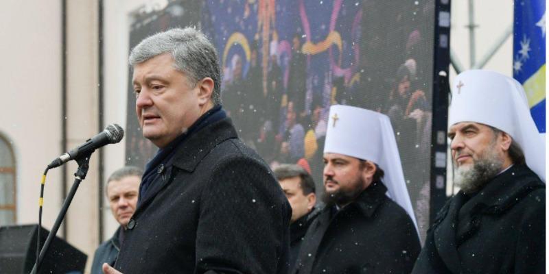 «Там моляться за вбивць українців»: Порошенко звернувся до парафіян УПЦ МП