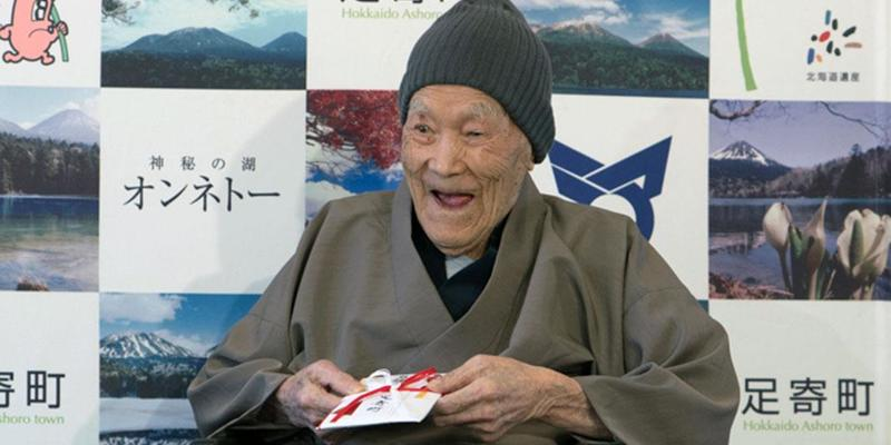 В Японії у віці 113 років помер найстаріший чоловік у світі
