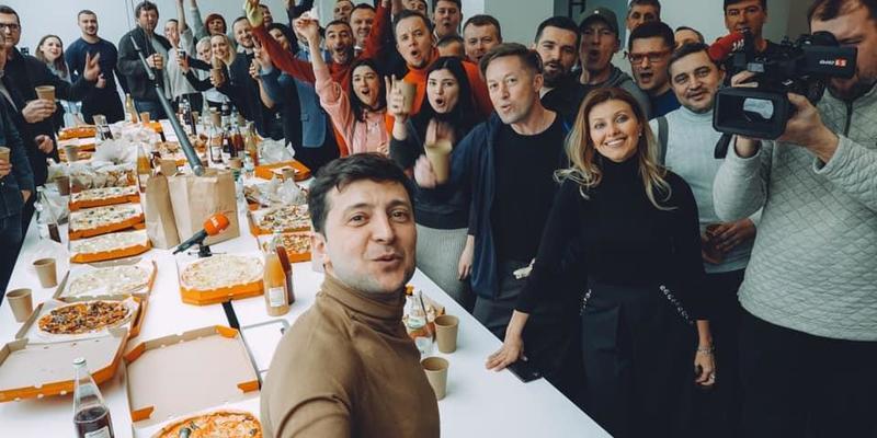 Партія «Слуга народу» висунула Зеленського в президенти (відео)